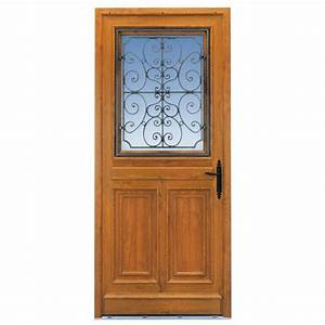 porte d39entree mansart pvc decor bois portes With porte d entrée pvc en utilisant porte entree bois