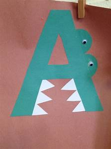 preschool letter a craft letters pinterest letter a With alphabet craft letters