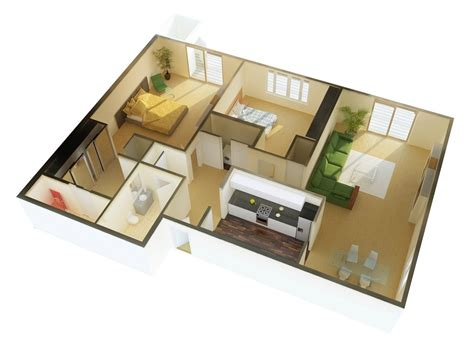 2 bedroom cottage plans 2 bedroom apartment house plans