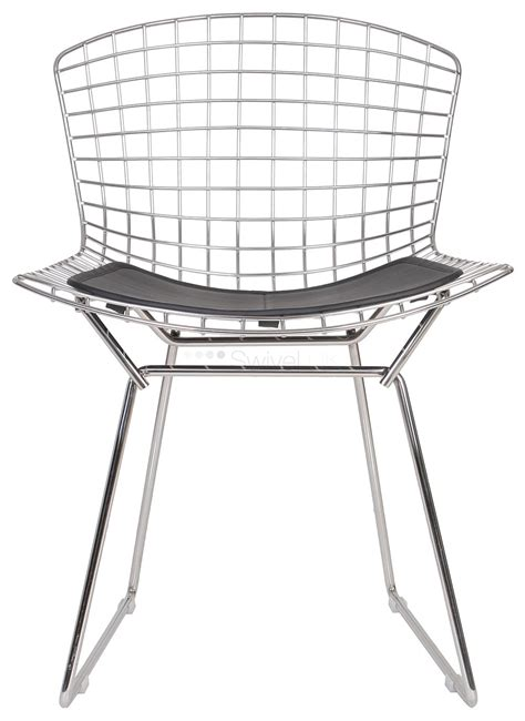 harry bertoia style wire dining side chair style