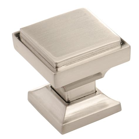 Square Cabinet Knobs by Brushed Nickel Cabinet Knobs From Southern Pack Of
