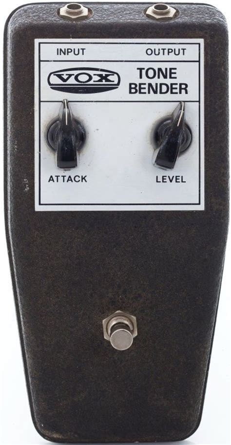 Vox Tone Bender Effects Pedal Amped Effected