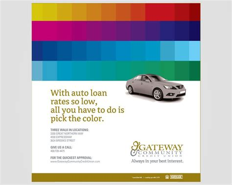 Gateway Community Credit Union Print Ad