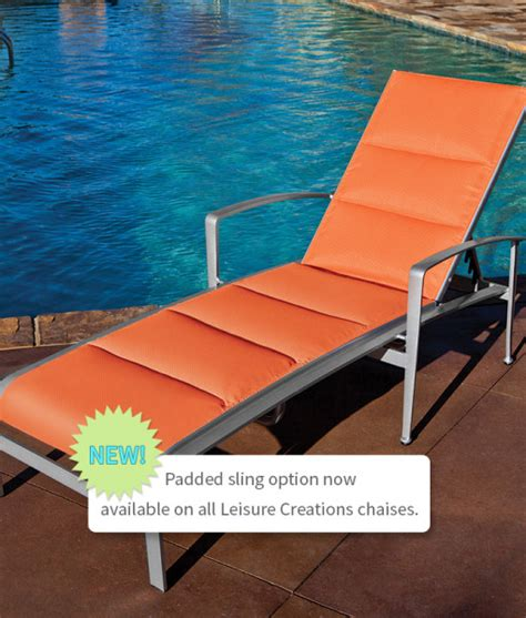 chaise metro padded chaise lounge padded pool chaise lounge padded
