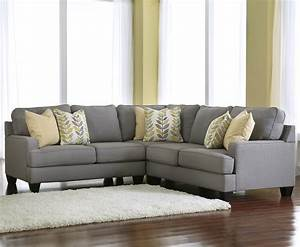 Signature design by ashley chamberly alloy modern 3 for Sectional sofas by ashley furniture