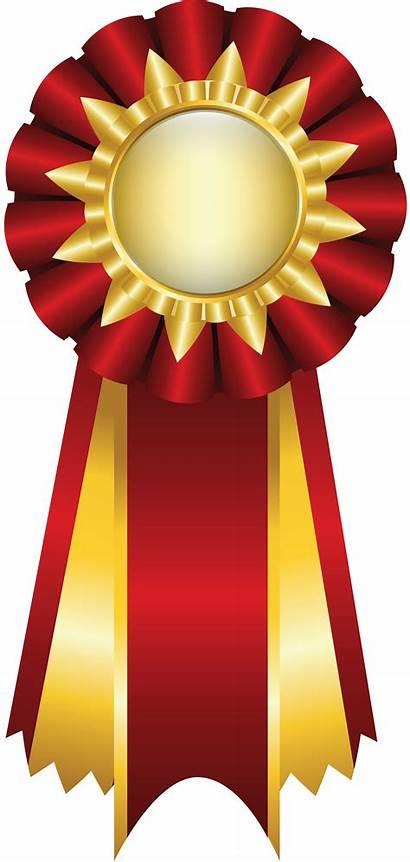 Medal Gold Award Transparent Clipart Trophy Ribbon