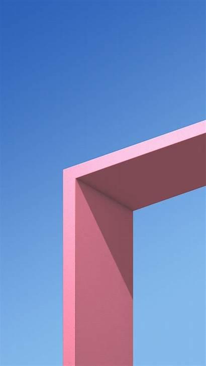 Wallpapers Architecture Minimal Pink Plus Htc U11