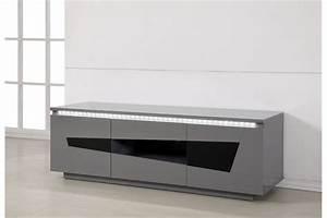 meuble tv design origami chloe design With deco cuisine pour meuble tv verre