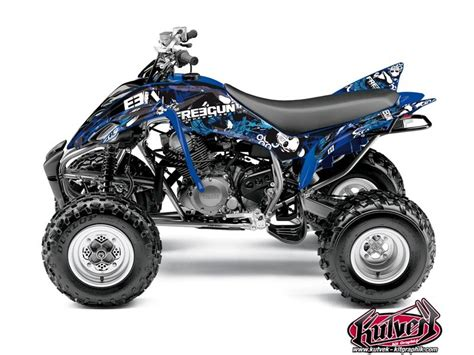 kit deco kutvek freegun bleu yamaha 350 raptor