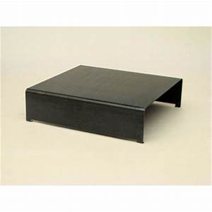 Table Basse En Acier : table basse design acier absolument design ~ Melissatoandfro.com Idées de Décoration