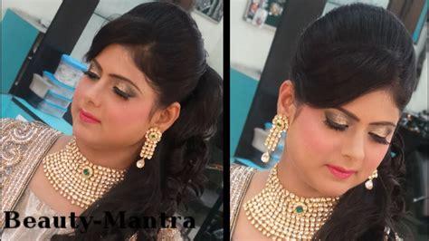 indian wedding makeup modern reception   bride