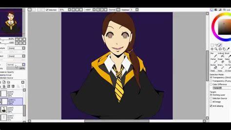 Speedpaint Harry Potter Oc