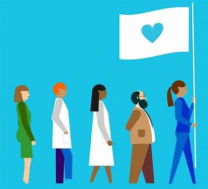 Health Mental Helping Treatment Overtime Flag Diseases