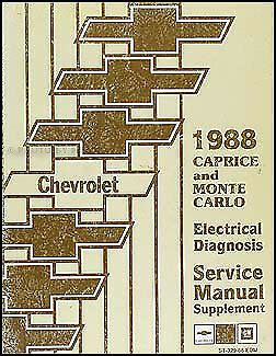 Chevy Caprice Wiring Diagram Manual Classic