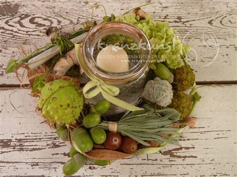 Natur ♥ Grünes Landhaus ♥ Tischdeko Spätsommer Herbst