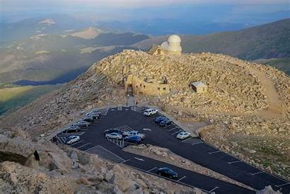 Highest Colorado Roads Paved Evans Aerial Mt