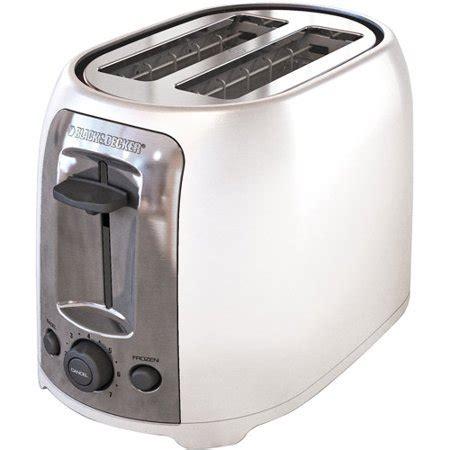 Black And White Toaster by Black Decker 2 Slice Toaster White Walmart