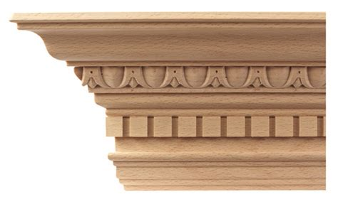 Decorative Crown Molding by Architectural Wood Mouldings Architectural Wood