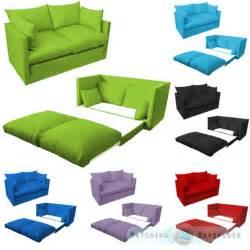 children 39 s sofa foldout z bed boys seating seat sleepover futon guest ebay - Ausklappbares Sofa