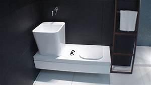 Wc Bidet Kombination : hatria gfull g full wellness wc wc bidet kombination sitzbank in teakholz unsichtbares wc mit ~ Watch28wear.com Haus und Dekorationen