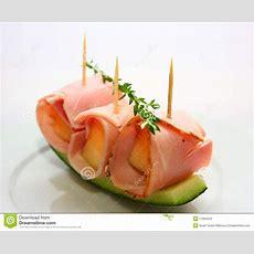 Schinken Mit Melone Stockfoto Bild Von Nahrung, Deli