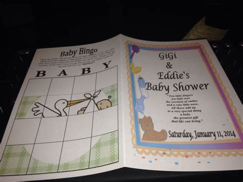 Baby Shower Sign In Book by Baby Shower Personal Game Book Baby Shower Fun Pinterest