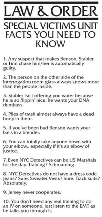jokes  law  order svu fans  understand