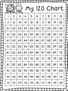Ship Shape First Grade  Go Math And A Freebie 120 Chart