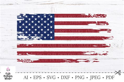Go premium and upload icons unlimited. American flag distressed. 4th of July SVG. Independence ...