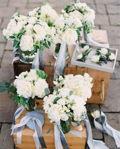 white wedding bouquets martha stewart weddings
