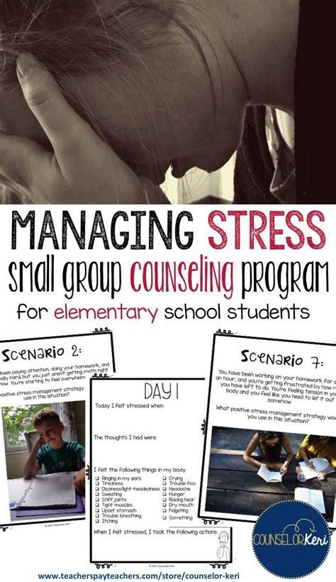 stress management activities group counseling program