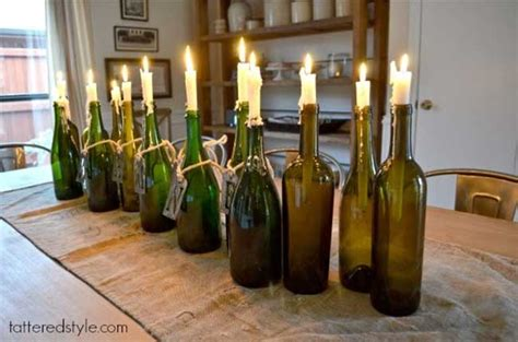 wine bottle candle holder 8 ways to wow your friends with recycled wine bottles