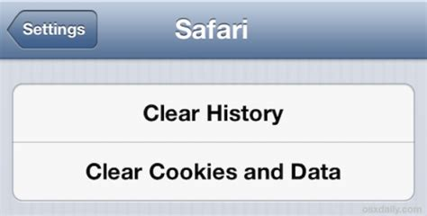 clear the history and cookies from safari on your iphone how to clear the cache of major browsers on ios
