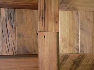 Reclaimed wood squares best home decoration for Barnwood plywood