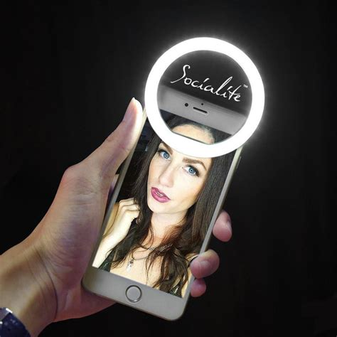 ring light for video socialite mini led selfie ring light portable photo