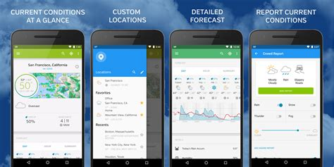 weather underground app for android weather underground redesigns android app the weather