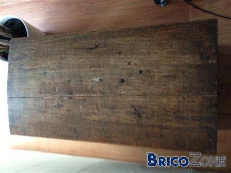 restauration vieux coffre en bois
