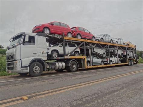 G1  Caminhão Cegonha Que Transportava Maconha é