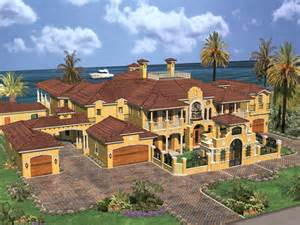luxury estate home plans cedar palm luxury florida home plan 106s 0069 house