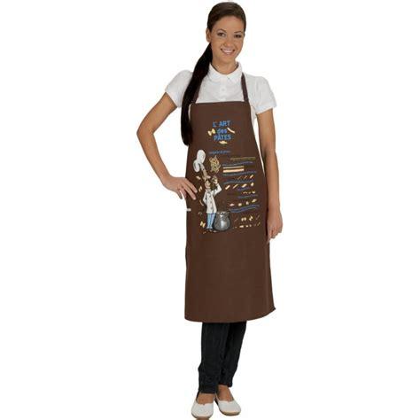 tablier cuisine fantaisie tablier de cuisine fantaisie pasta marron