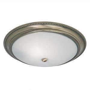 Endon lighting brass semi flush ceiling light