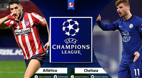 Atletico Madrid vs Chelsea EN VIVO ESPN 2 Hora Canal TV ...