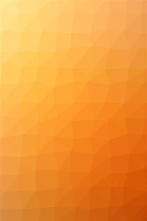 orange polygon art abstract pattern iphone  wallpaper