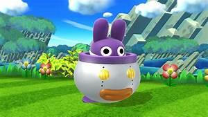 Nabbit Super Smash Bros WiiU Skin Mods