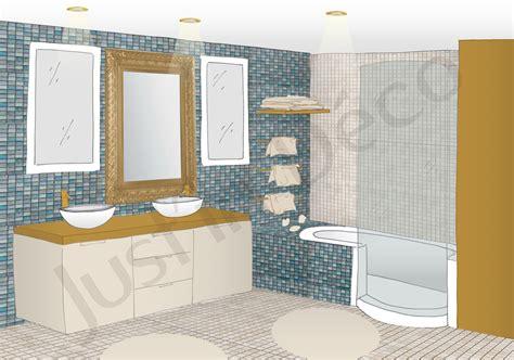 si e de bain emejing salle de bain orientale bleue contemporary