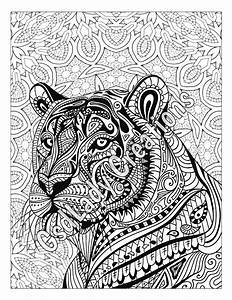 Zen Tiger Animal Art Page To Color Zentangle Animal Zentangle Drawing Zentangle Animals