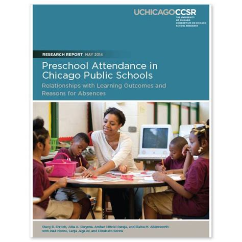 preschool attendance in chicago schools 387 | 076770a77bb328633428b74c3e6af652 CCSR Pre K Attendance Full Report May 2014 revised 533 c 90