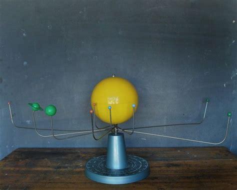 Vintage solar system model orrery   Solar System Model
