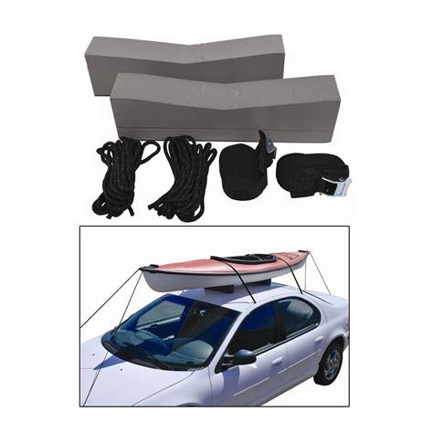 car top kayak racks attwood car top kayak carrier kit