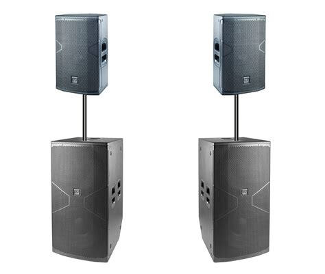 DAS Audio Vantec 215a and 218A Package Two-Way Powered ...